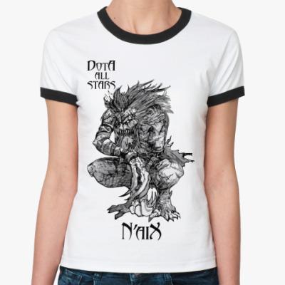 Женская футболка Ringer-T N'aiX