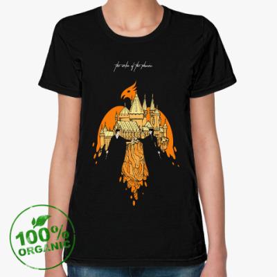 Женская футболка из органик-хлопка снарри
