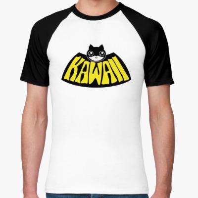 Футболка реглан Kawaii Batman