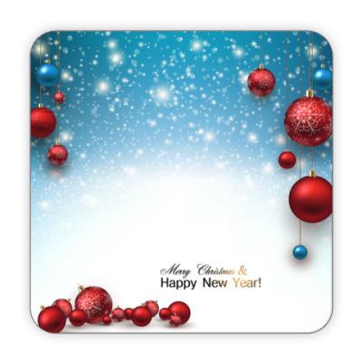 Костер (подставка под кружку) New Year