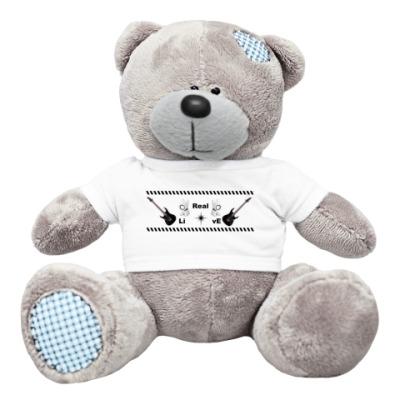 Плюшевый мишка Тедди Real live