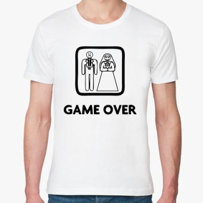 Футболка из органик-хлопка Game Over