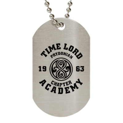 Жетон dog-tag Gallifrey Academy