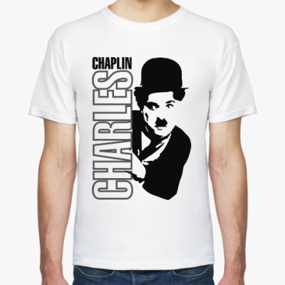 Футболка Чарли Чаплин