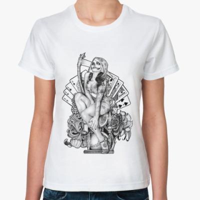 Классическая футболка Santa Muerte
