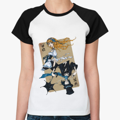 Женская футболка реглан  'Love Story'