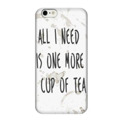 Чехол для iPhone 6/6s Чашка чая