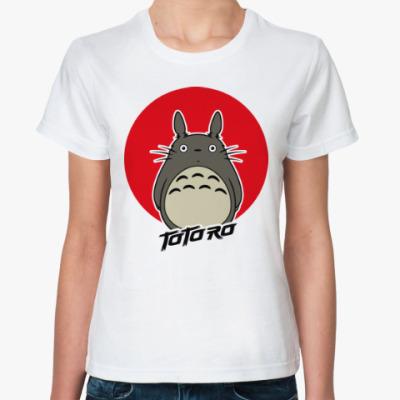 Классическая футболка Totoro (Тоторо)