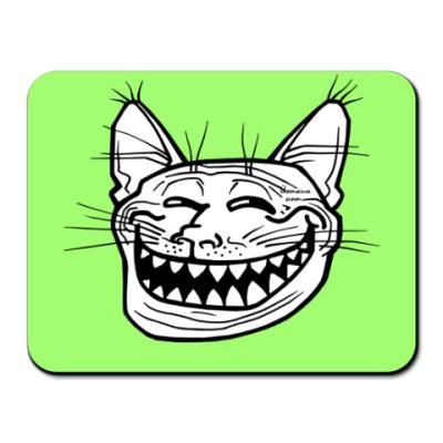 Коврик для мыши  Кото-тролль