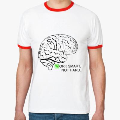 Футболка Ringer-T Мозг