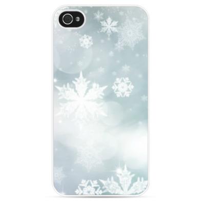 Чехол для iPhone Снежная фантазия
