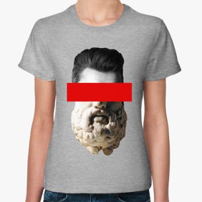 Женская футболка Совмещение