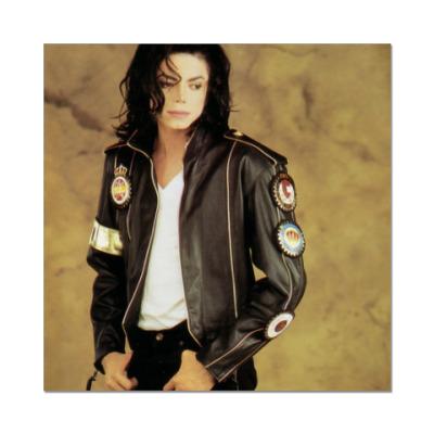 Наклейка (стикер) Майкл Джексон