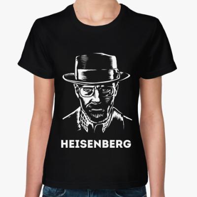 Женская футболка Хайзенберг