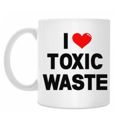 Кружка Toxic Waste (Real Genius)