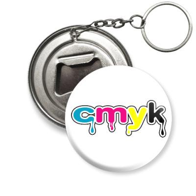 Брелок-открывашка CMYK