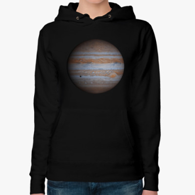 Женская толстовка худи Юпитер