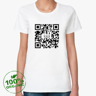 Женская футболка из органик-хлопка Женская футболка Stella Likes из органик-хлопка, белая