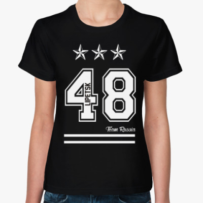 Женская футболка Липецк