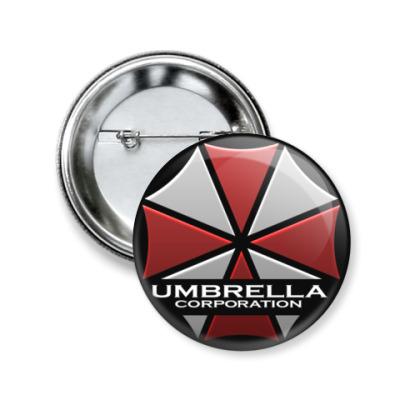 Значок 50мм Umbrella Corporation