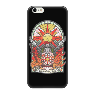 Чехол для iPhone 6/6s Dark Souls Praise the sun