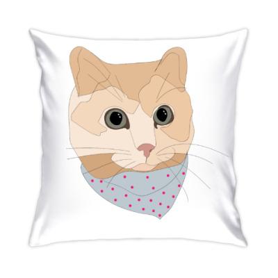 Подушка Песочный кот