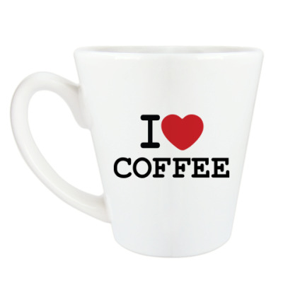 Чашка Латте I Love Coffee