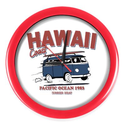 Настенные часы Гавайи