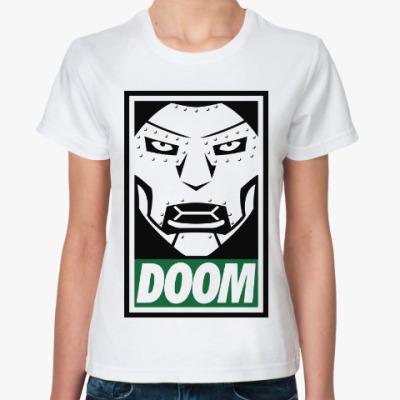 Классическая футболка Доктор Дум (Фантастическая Четвёрка)