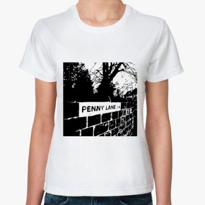 Классическая футболка  Penny Lane