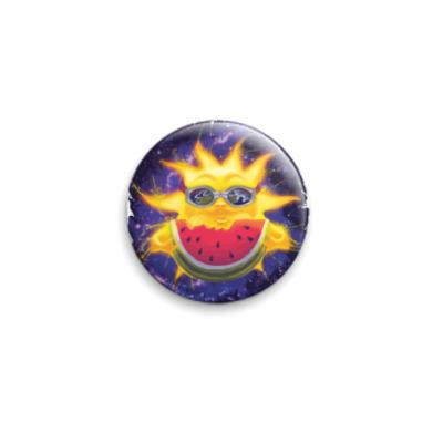 Значок 25мм Солнечный арбуз