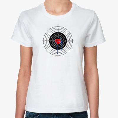 Классическая футболка Благородное сердце