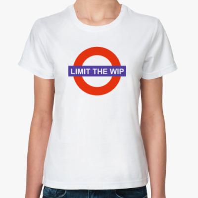 Классическая футболка Limit The WIP