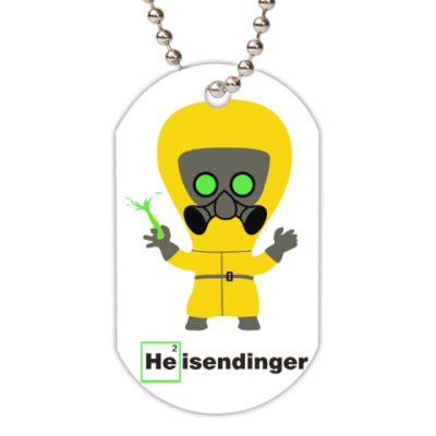 Жетон dog-tag Heisendinger