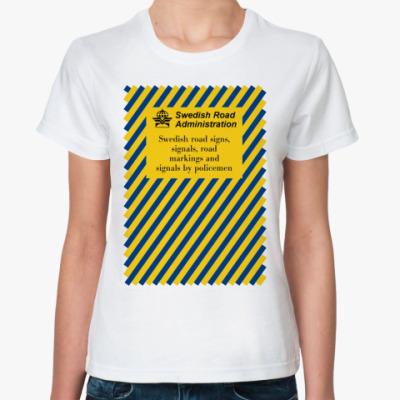 Классическая футболка  SIGNS
