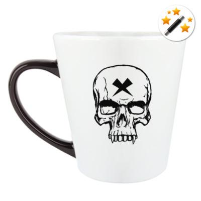 Кружка-хамелеон Vampire Skull