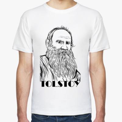 Футболка  Толстой