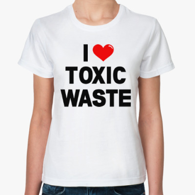 Классическая футболка Toxic Waste (Real Genius)