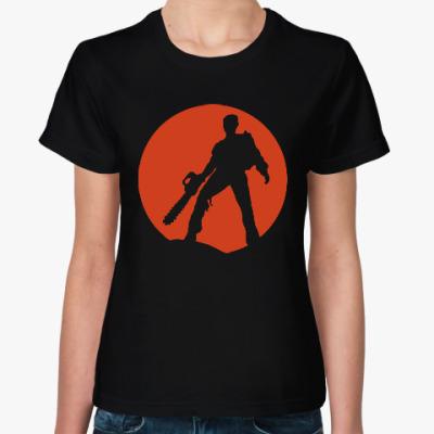 Женская футболка Зловещие мертвецы