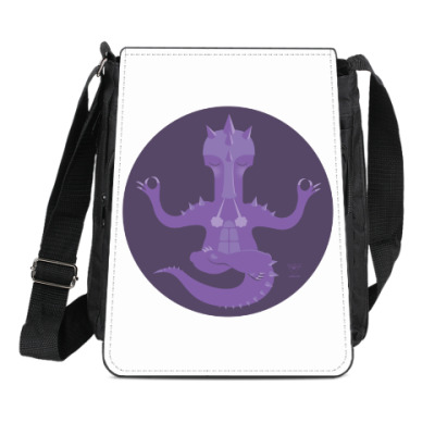 Сумка-планшет Animal Zen: D is for Dragon
