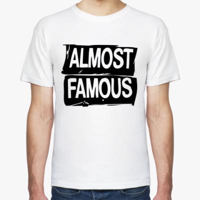 Футболка Надпись ALMOST FAMOUS