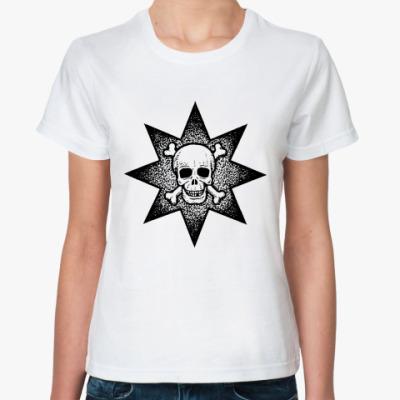Классическая футболка Звезда смерти