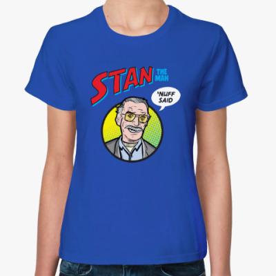 Женская футболка Стэн Ли