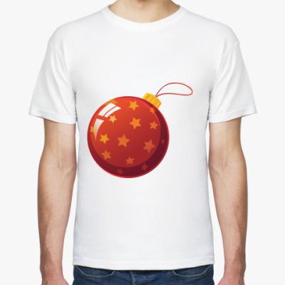 Футболка Елочный шар