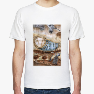 "Футболка  футболка ""Птица"""