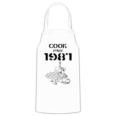 Фартук Сook Since 1987