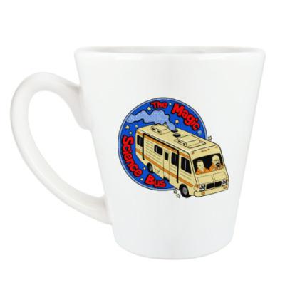 Чашка Латте Волшебный автобус