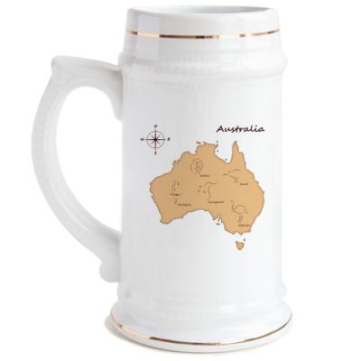 Пивная кружка Australia
