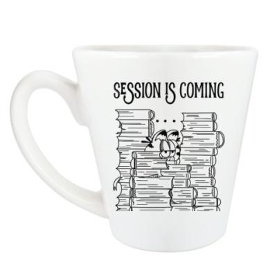 Чашка Латте Надвигающаяся сессия