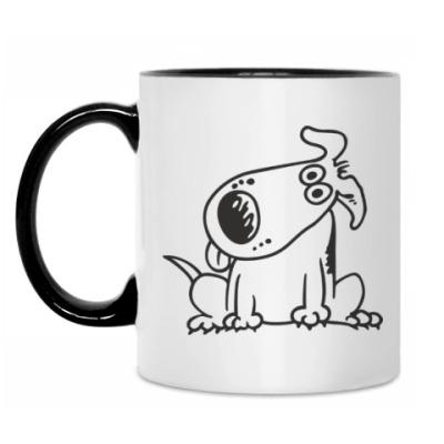 Кружка Смешная собачка